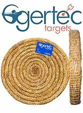 Egertec 65CM Round Straw Archery Target. Free Faces, Pins And Free Delivery.