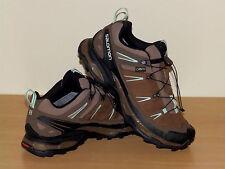 Salomon leather goretex shoes size 8 uk