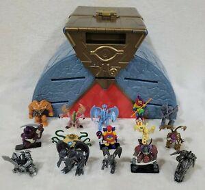Vintage 2002 Mattel Yugioh! Duel Monsters Arena Playset W/ 15 Figures - No Cards
