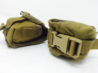 X2 NEW USMC Military Coyote Brown Molle Grenade Pouch Carrying  Vest Accessory