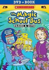 The Magic School Bus: Takes a Dive NEW DVD With Book FREE SHIPPING!!
