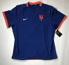 New York Mets On Field Nike Short Sleeve Pullover Jacket Size Large NWT