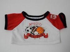 Build A Bear ~ Athletic All Star T-Shirt