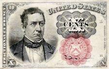 1874 - 1875 FRACTIONAL CURRENCY 10 CENT NOTE - LOVELY GEM CRISP NEW !