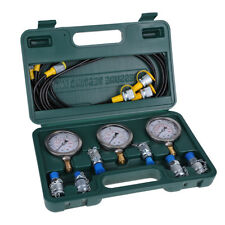 Excavator Hydraulic Pressure Test Kit Hydraulic Tester Test Coupling with Gauge