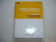 2011 Mitchell General Motors Collision Estimating Manual Guide Corvette Camaro