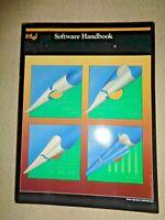Intel Corp Software Handbook 1984 Technology Computer Microprocessor Programs