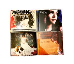 Norah Jones CD Set~Lot of 4 Album Discs~The Fall/Little Broken Hearts/Come Away