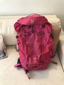 Haglofs 35 Liter Backpack Pink Pretty Adjustable