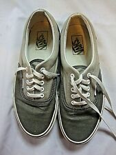 Vans Unisex Walking Shoes Gray Beige USA Size Mens 8.5 Womens 10 Low Top