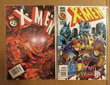 X-Men #44 46  (1994, Marvel Comics) FN 6.0 lot of 2 bagged x babies Jean Grey