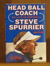 Steve Spurrier, Head Ball Coach, *Signed* 1st/1st  F/F Football Gators Gamecocks