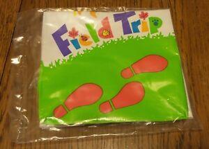 1993 Mcdonald's Happy Meal Toy Field Trip Explorer Bag ~ NEW