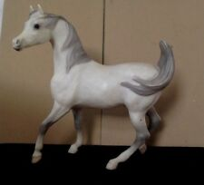 Vintage Breyer Horse. Magnificent White Arabian Stallion. 1961.