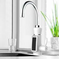 Sink Faucet Instant Electric Hot Water Heater Kitchen Toilet Fast Heating Plug