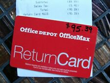 Office Depot Office Max New Unused Gift Card $95.39