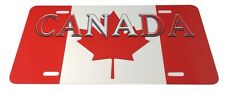 Canada License Plate Automobile Car Truck Flag Sign Metal Aluminum Canadian