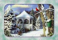 Gazebo in Winter 18 Boxed Christmas Cards by Designer Greetings