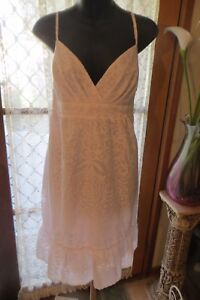 DRESS in VINTAGE   ~ IMPULSE ~  White Sun DRESS * Size 12 * NWT * NOW 1/2 PRICE!