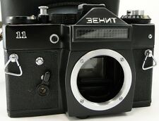 *PERFECT Con.* KMZ ZENIT-11 Russian Soviet USSR SLR 35mm Camera M42 Body & Case