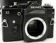 CLA'd 1982! =KMZ= ZENIT-11 Russian Soviet USSR SLR 35mm Camera M42 Body & Case