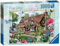 RAVENSBURGER PUZZLE*1000 TEILE*COUNTRY COTTAGE 8*PEONY COTTAGE*RARITÄT*OVP