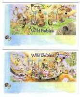"2001 FDC x 2. Australia. Wild Babies. M.S. Pict.FDI ""GUMDALE"""