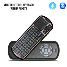 iPazzPort Bluetooth Keyboard with Voice and IR remote for iPad/Android Tablet