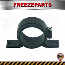 Universal Fuel Pump Mounting Bracket Single Filter Clamp Cradle Black 60mm ID