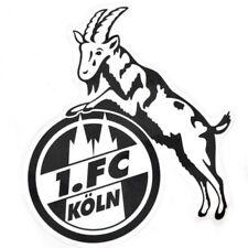 STICKER AUFKLEBER transparent (schwarz) 1. FC KÖLN  NEU