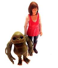 "BBC 1 TV DOCTOR WHO Companion SARAH JANE & SLITHEEN CHILD 5"" figure RARE"