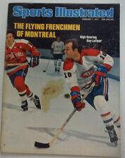 Sports Illustrated Magazine Guy Lafleur & Montreal February 1977 NO ML 052315R