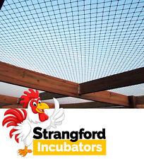 "Pheasant Pen Roof Netting 22FT x 44FT (x 1.5"" MESH) - **STOPS WINGED PREDATORS**"