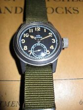 "Hamilton ""USN BUSHIPS"" 987A. Military Wristwatch... Original Black Dial... L@@K"