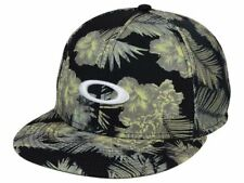 Oakley Sublimated Floral Meshback Flat Bill Snapback Cap Hat