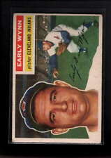 1956 TOPPS  #187 EARLY WYNN VG D8276
