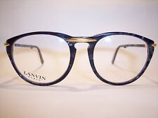 Damen-Brille/Eyeglasses/Lunettes by LANVIN Paris 100%Vintage Original 90'er