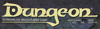 TSR Dungeon Magazine select from issues 61 to 90 Dungeons & Dragons D&D