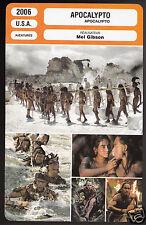 APOCALYPTO (2006) Mel Gibson Film Rudy Youngblood FRENCH CINEMA MOVIE PHOTO CARD