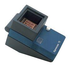 Signoscope compact, pour détection de filigrane.