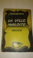 Ellery Queen - La ville maudite - Albin Michel, coll. Le Limier(1947)