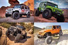 """Teraflex 1.25"""" Polyethylene Body Lift Kit 07-16 Jeep JK Wrangler (Auto Trans)"""