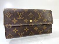 Louis Vuitton Monogram Porte Tresor International Long Wallet J20000119226