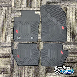 2014 - 2019 Fiesta OEM Ford Heavy-Duty ALL Weather Floor Mats ( 4pc. Set )