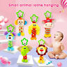 Baby Infant Rattles Plush With Teether Cute Animal Hanging Bell Play Toy Doll AU