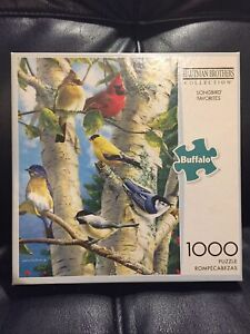 Buffalo Hautman Brothers Collection 1000 Piece Puzzle Songbird Favorites A64