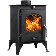 Nettleham 7.56KW Log Burner MultiFuel Wood Burning Stove WoodBurner Fireplace