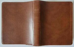 CAMBRIDGE CAMEO BIBLE /KING JAMES VERSION /BONDED LEATHER / WIDE MARGIN EDITION!