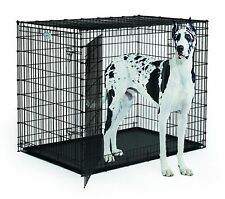 XXL Huge 54 Inch Dividable Dog Crate XXXL 2X Extra Large Breed Great Dane Cage