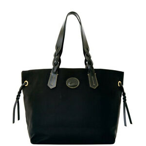 Dooney & Bourke Women's Nylon Shopper Bag, Black/Black 8801-7
